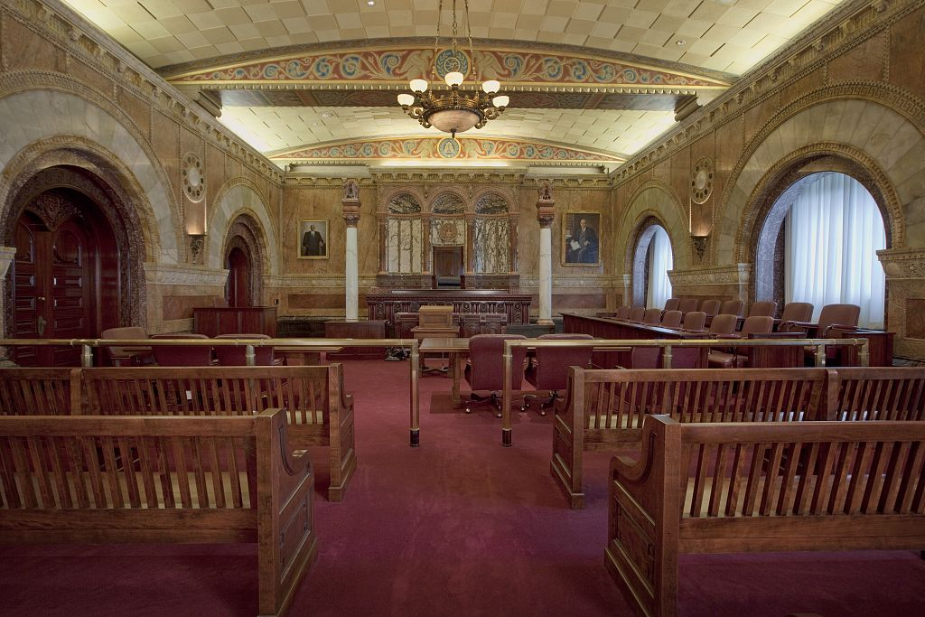 Million Dollar Courtroom Theodore Levin United State