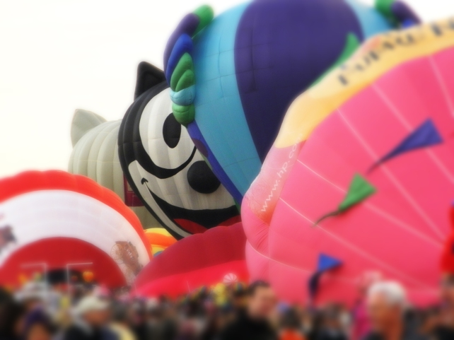 Albuquerque Balloon Fiesta Special Shapes Felix the Cat