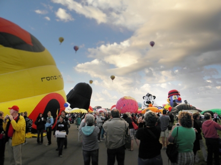 Albuquerque Balloon Fiesta Special Shapes Stinky
