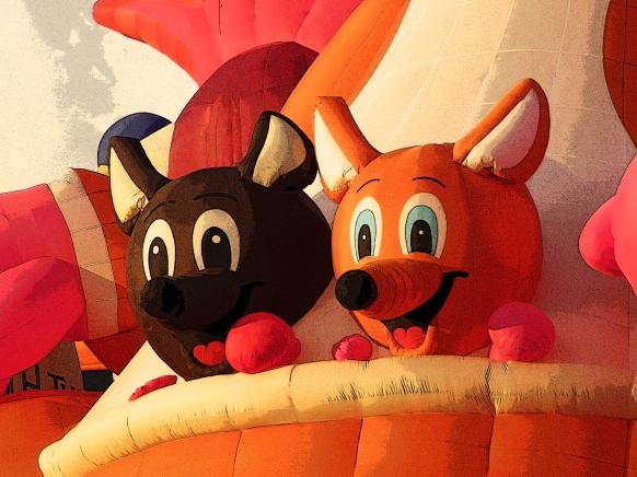 Albuquerque Balloon Fiesta Special Shapes Kangaroos babies