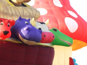 Albuquerque Balloon Fiesta Special Shapes Noahs Ark Arky