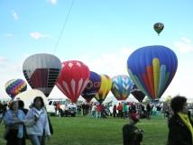 Albuquerque Balloon Fiesta Teardrop Balloons