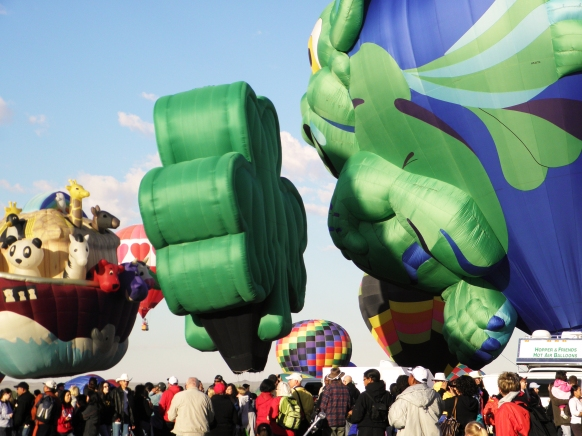 Albuquerque Balloon Fiesta Special Shapes Paddy and Arky