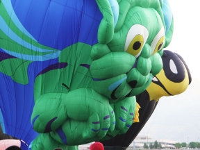 Albuquerque Balloon Fiesta Special Shapes Gizzmo