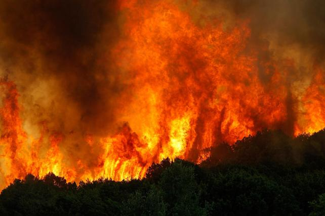 Wildfires Continue To Burn In Texas