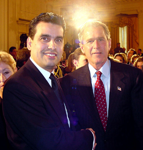 William Rodriguez and George Bush