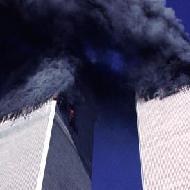 WTC up in smoke