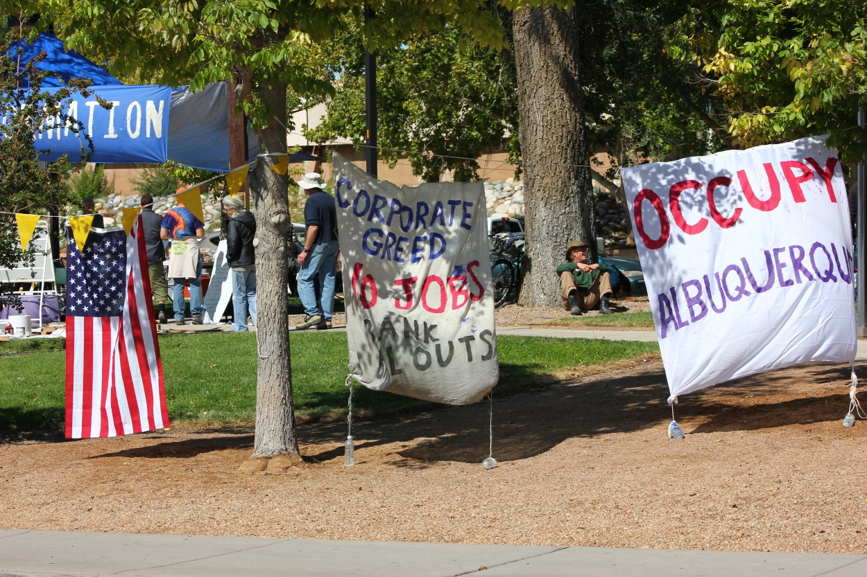 Occupy Albuquerque Coyote Camp