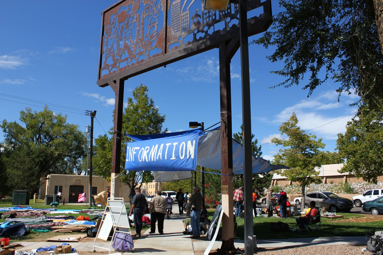 Occupy Albuquerque | Anti-War | Coyote Camp 10/08/2011