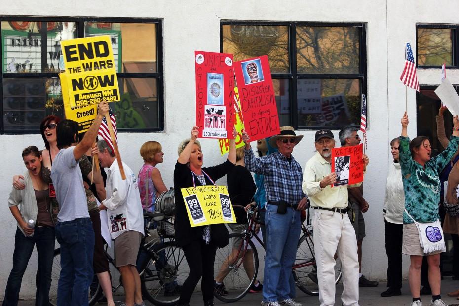 Occupy Albuquerque | The Protest Heard Around the World Oct 15, 2011