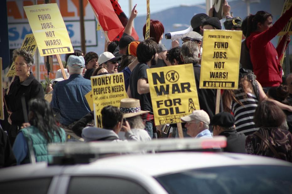 Occupy Albuquerque   Anti-War   Coyote Camp 10/08/2011
