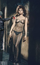 Lt John Pike pepper spraying cop and Alfred Eisenstaedt's photo of Sophia Loren cover of LIFE Magazine