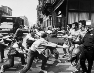 Lt John Pike pepper spraying cop and West Side Story