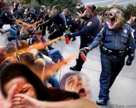 a Lt John Pike satire on spraying students