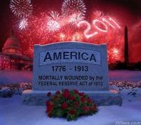 America's tombstone