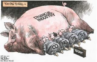 Financial industry pig