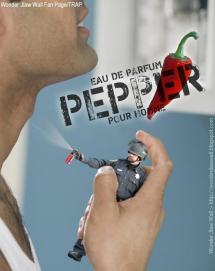 Lt John Pike pepper spraying cop as eau de parfum