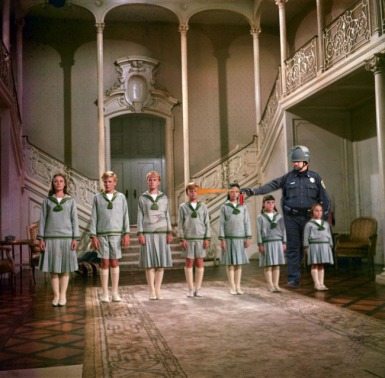 Lt Pike and the Von Trapp family
