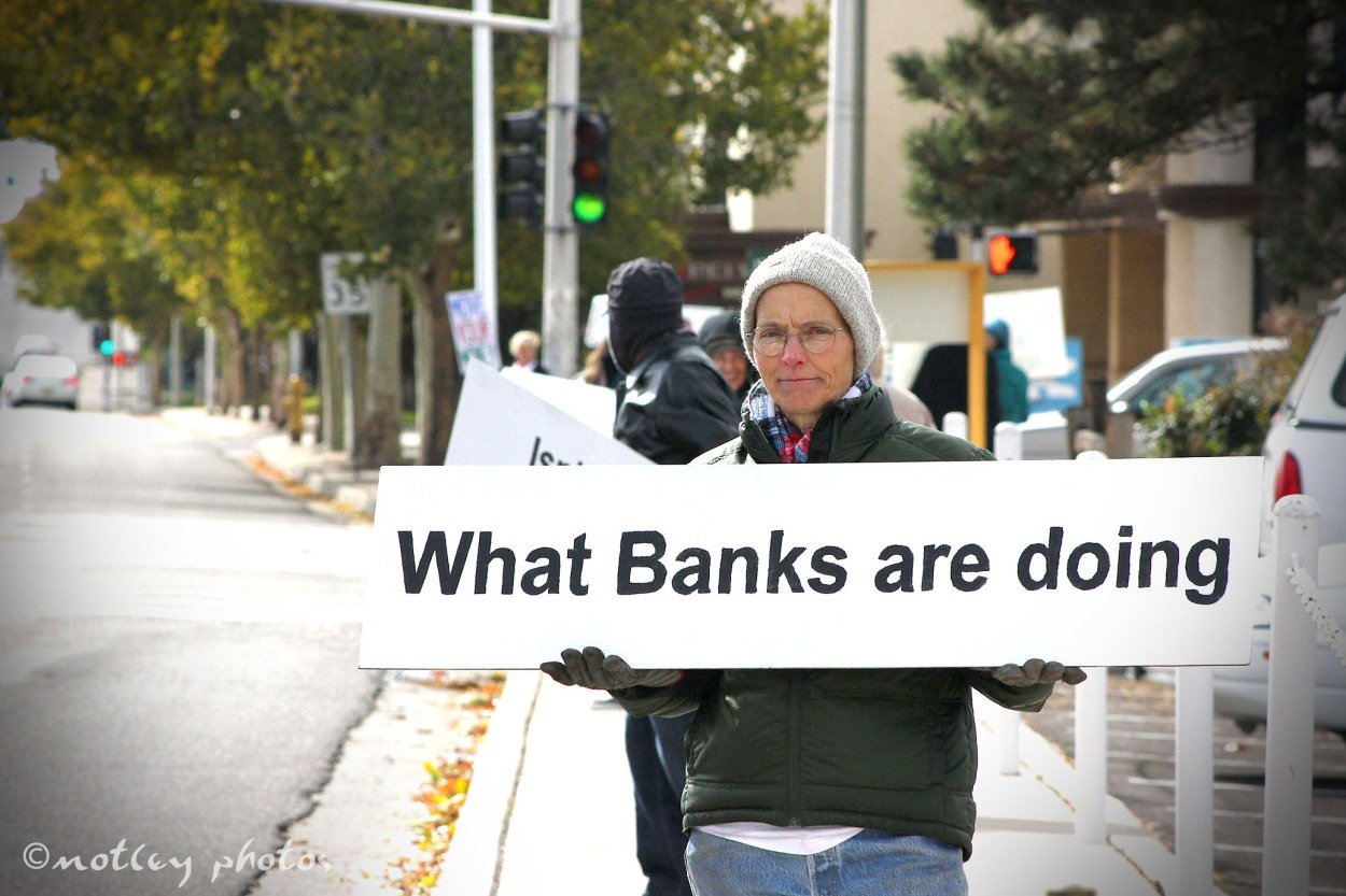 Occupy Albuquerque Nov 5 2011 Bank Transfer Day 02