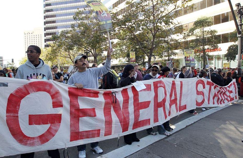 Occupy Oakland strike