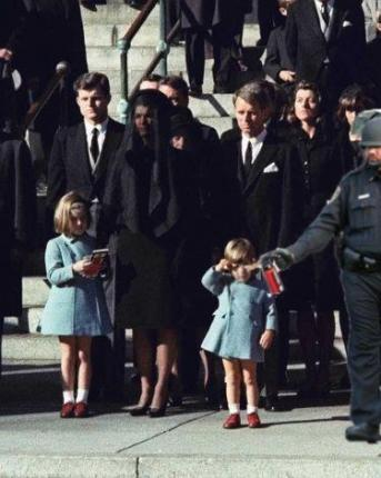 pepper spraying cop John Pike spraying John Jr and Kennedy's funeral