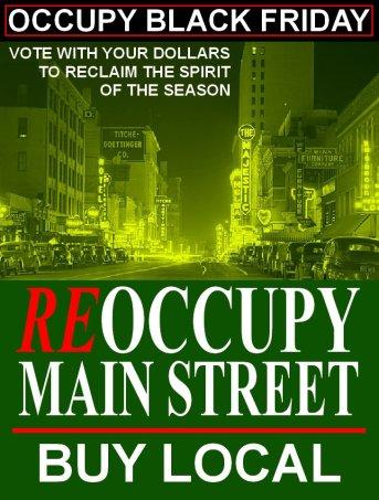 reoccupy main street buy local