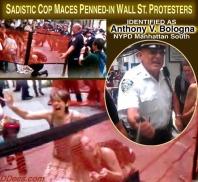 Satire Officer Bologna OWS