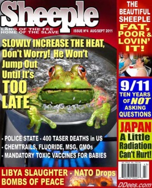 Satire Sheeple 3 Magazine