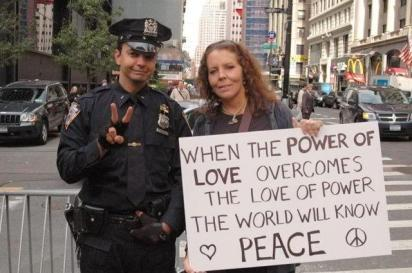 when the power of love overcomes the love of power the world will know peace