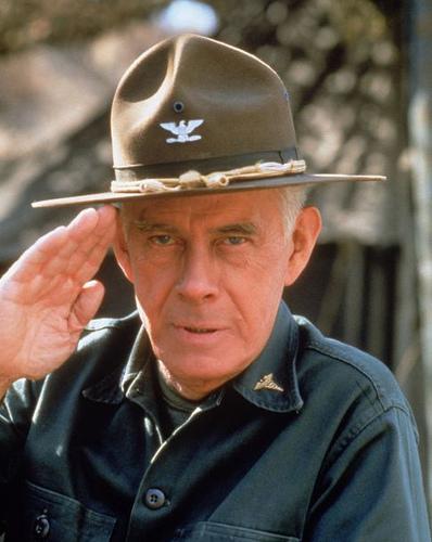 1 Colonel Sherman T Potter MASH