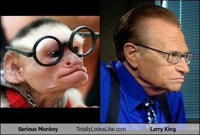 CNN Anderson Cooper's Ridiculist monkey looks like Larry King