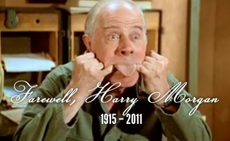 Farewell Harry Morgan as Col Potter