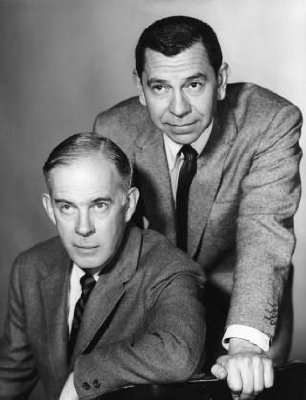 Harry Morgan and Jack Webb from Dragnet