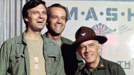Alda, Farrell, & Morgan In 'MASH'