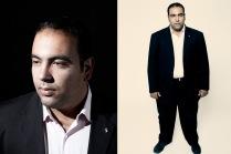 Mahmoud Salem, a.k.a. Sandmonkey, Egyptian revolutionary blogger, activist and protester.