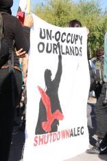 Protest against ALEC in Scottsdale AZ on Nov 30 2011 photo 11
