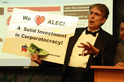 Protest against ALEC in Scottsdale AZ on Nov 30 2011 photo 19