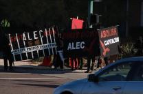 Protest against ALEC in Scottsdale AZ on Nov 30 2011 photo 20
