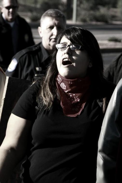 Protest against ALEC in Scottsdale AZ on Nov 30 2011 photo 33