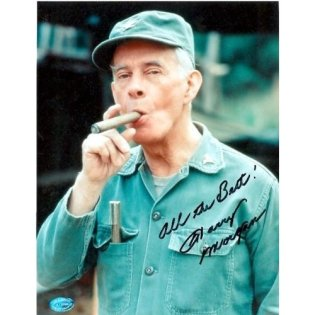 Signed photo of Col Potter