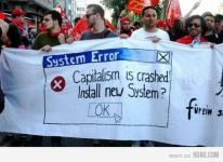 System Error Capitalism has crashed install new system