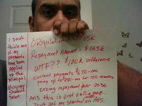 The reality of a student loan debt 4