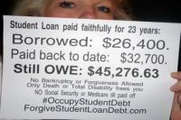 The reality of a student loan debt 5