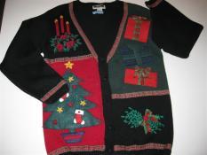 Christmas items made from felt