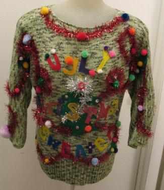 Says Ugly Christmas Sweater