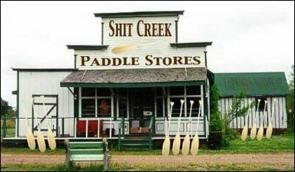 Up shit creek paddle store