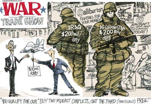 War Trade Show Political Cartoon Motley News Photos And Fun