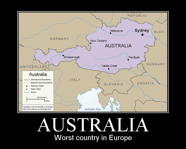 Map Of Australia Joke.Australian Tourism Stupid Answers To Stupid Questions Motley News