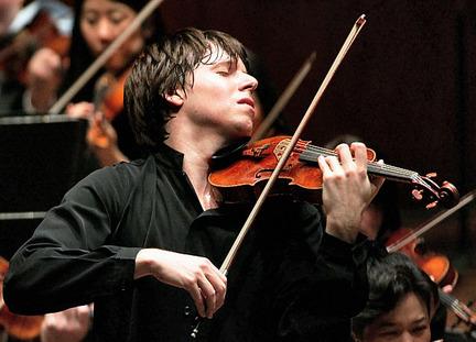 Joshua Bell, violinist.