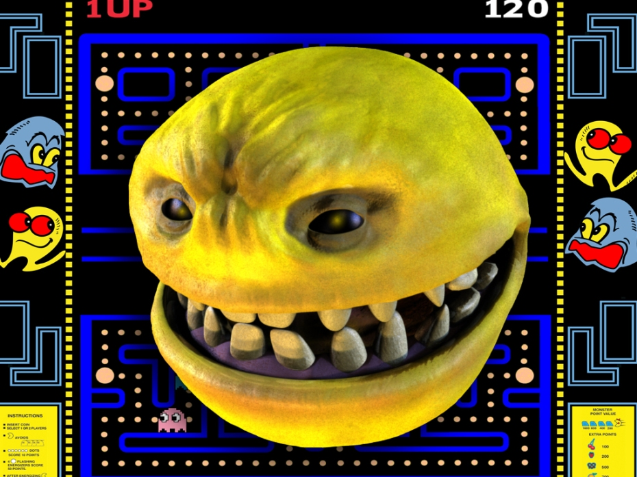 Realistic Pac Man
